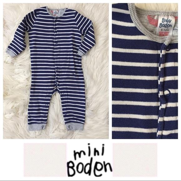 33c82c5567bf Baby Boden Striped Romper. M 5b1da36f4ab6337c007661c9